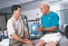 Isometric Ball Squeeze-Physical Therapy and Exercise for the Shoulder