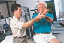 Seated Passive Exercise-Physical Therapy and Exercise for the Shoulder