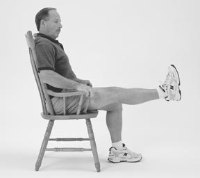 Physical Therapy and Exercise for the Knee- Sitting Knee Extensions
