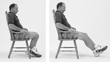 Physical Therapy and Exercise for the Knee-Knee Flexion: Seated Stretch